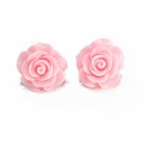 Rosa øredobber