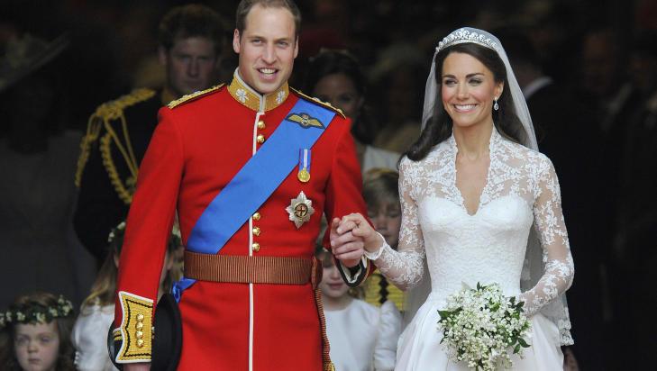 Brudekjole prinsesse Kate Middleton
