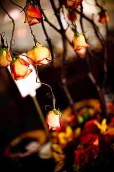 dekorasjon høstbryllup