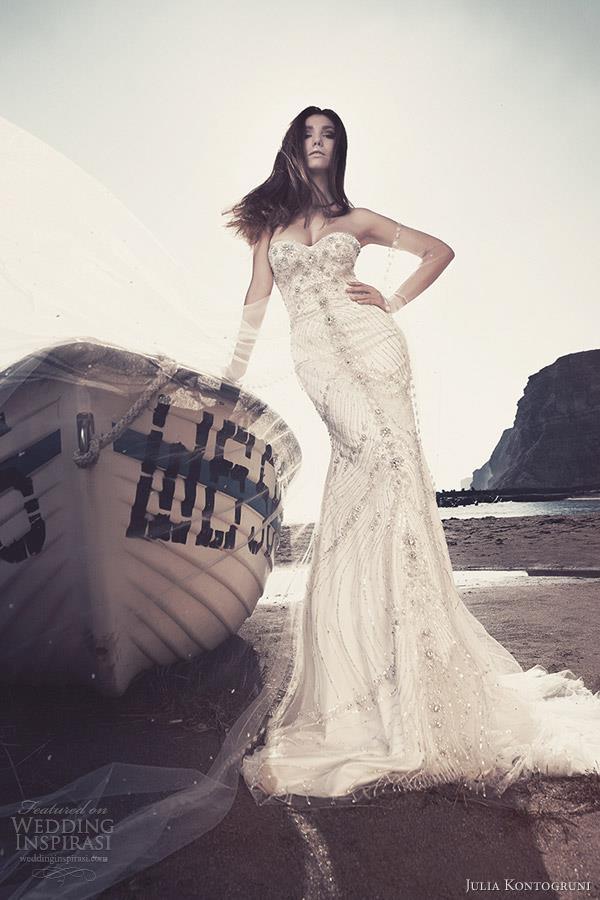 brudekjoler med glitter og strass