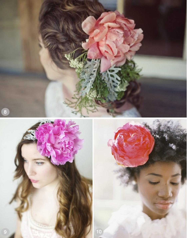 Blomster i brudehåret