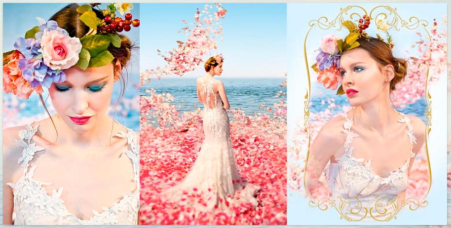 Claire Pettibone couture bridal