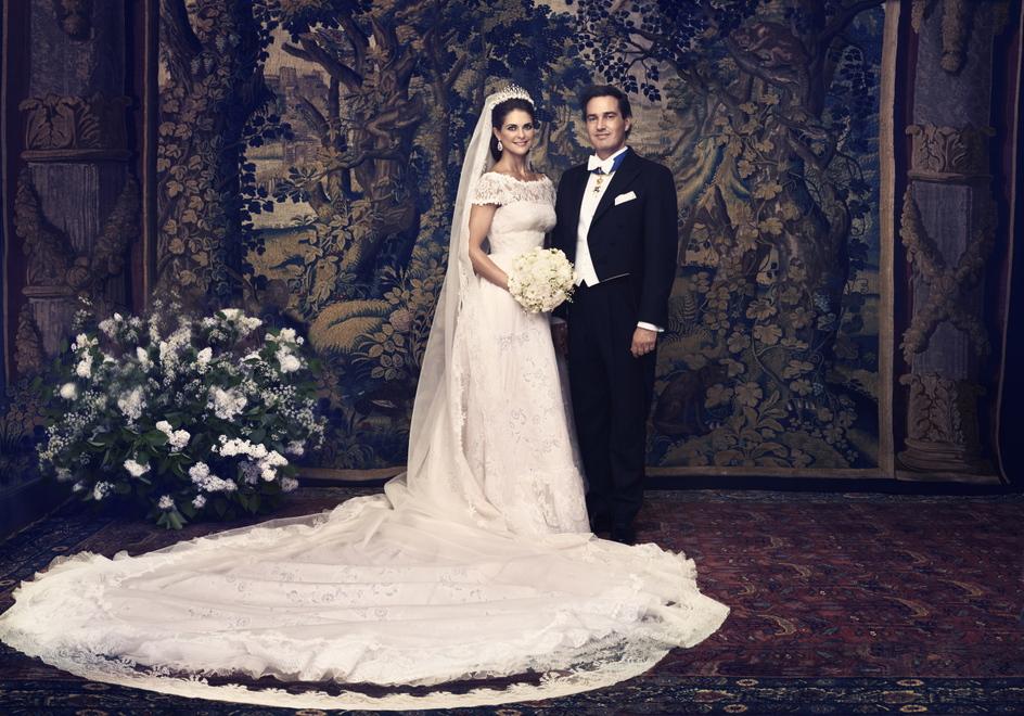 Prinsesse Madeleine brudekjole