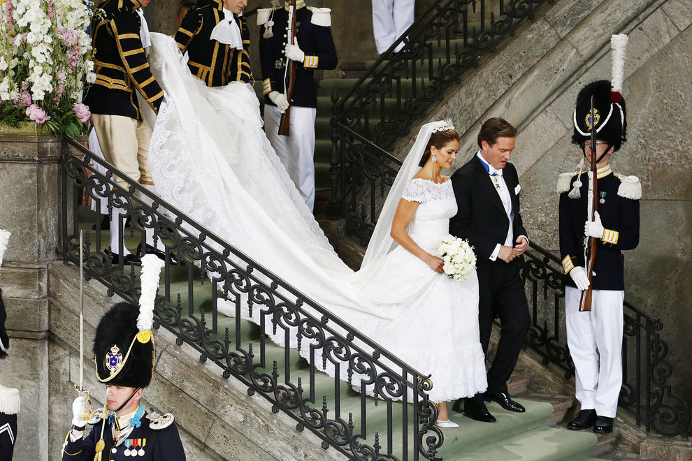 Brudekjolen til prinsesse Madeleine