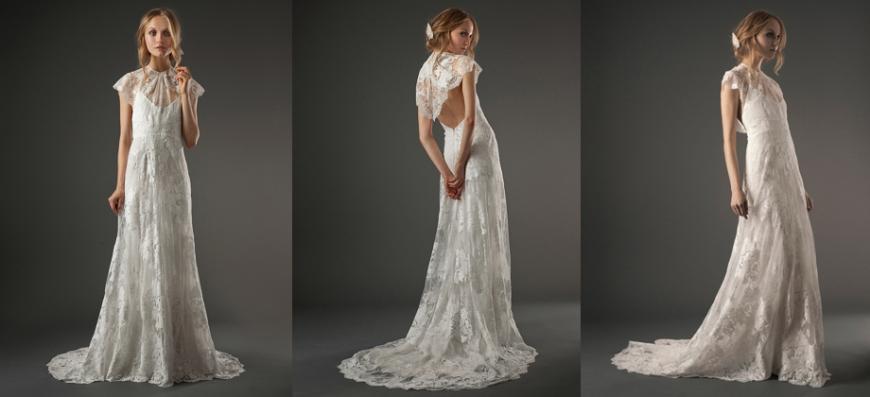 enkle brudekjoler