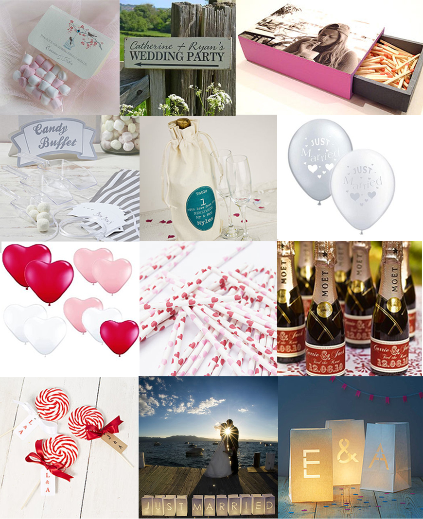 bryllups dekorasjon