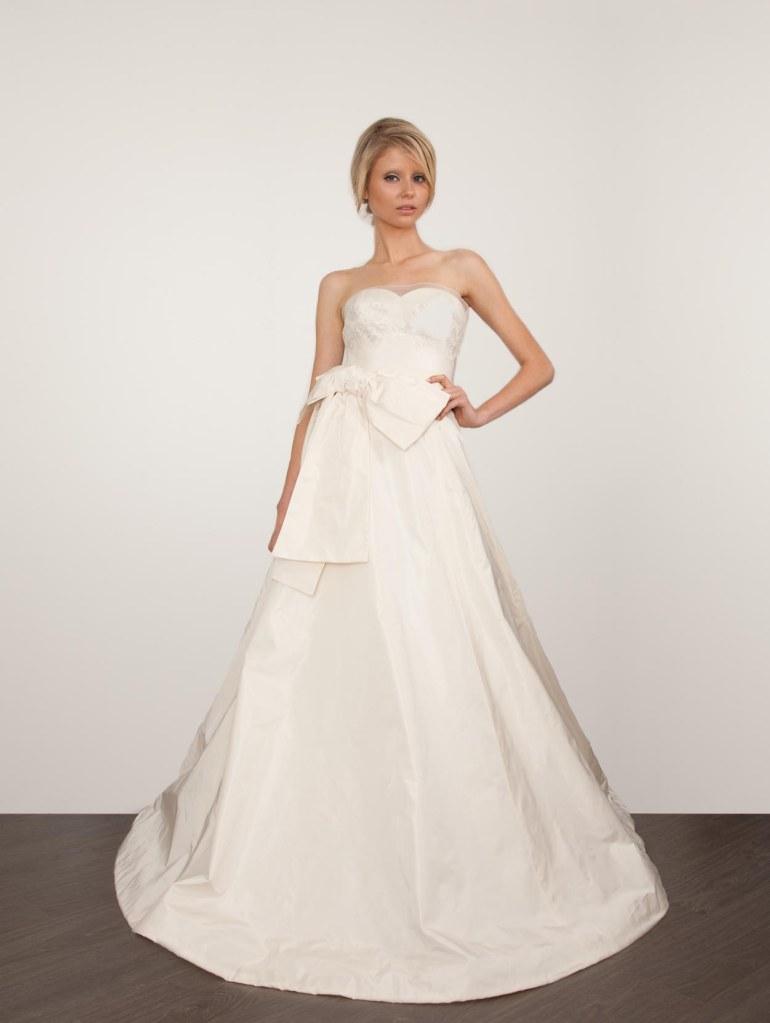 klassisk brudekjole