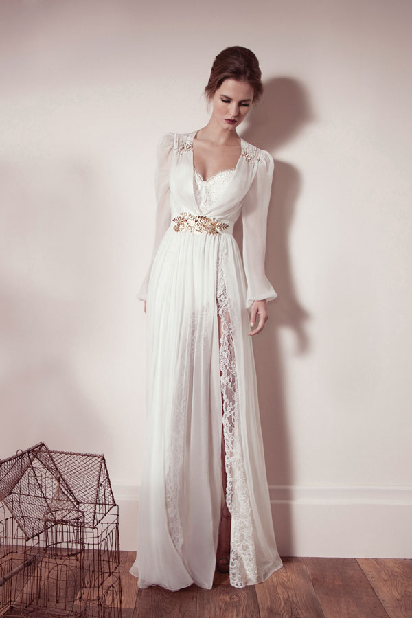 Long Sleeve Wedding Gowns 012 - Long Sleeve Wedding Gowns