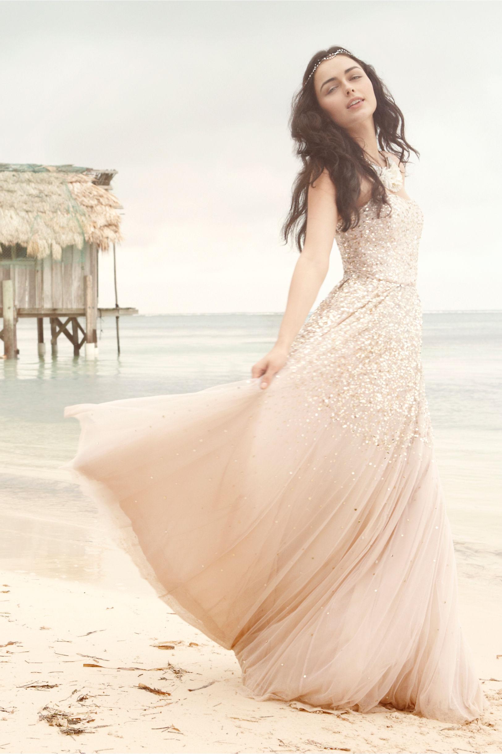 brudekjole strandbryllup