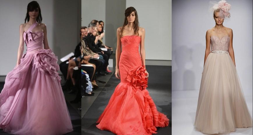 brudekjole-rød-rosa-med-farge